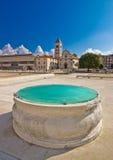 Vista storica del quadrato del forum di Zadar Immagini Stock Libere da Diritti