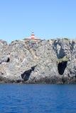 Vista strabiliante - isola di Giannutri Fotografia Stock Libera da Diritti