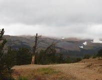 Vista stupefacente dal pendio di collina in Colorado Fotografia Stock Libera da Diritti