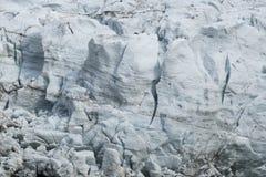 Vista stupefacente del DES Bossons del ghiacciaio Alpi francesi Chamonix-Mont-Blanc Fotografia Stock Libera da Diritti