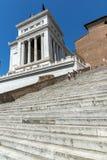 Vista stupefacente dell'altare del della Patria di Altare di patria, conosciuto come il monumento nazionale a Victo Fotografie Stock Libere da Diritti