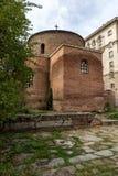 Vista stupefacente della st George Rotunda della chiesa a Sofia, Bulgaria Fotografia Stock Libera da Diritti