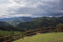 Vista stupefacente delle montagne di Rhodope in Bulgaria Fotografia Stock Libera da Diritti