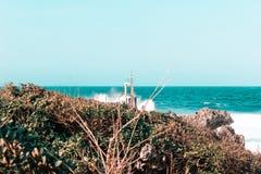 Vista stupefacente delle onde in Cali Fotografia Stock Libera da Diritti