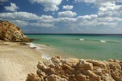 Vista stupefacente - litorale di S.Margherita fotografia stock libera da diritti