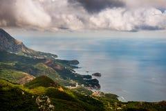 Vista stupefacente nel Montenegro Fotografia Stock