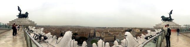 Vista stupefacente a Roma Fotografia Stock Libera da Diritti