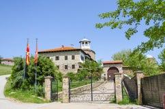 Vista stupefacente sul complesso della chiesa e del monastero Fotografia Stock Libera da Diritti