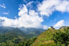 Vista stupefacente sulla montagna nel Vietnam immagine stock libera da diritti