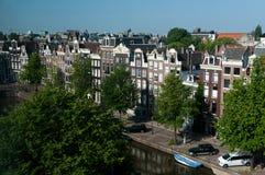 Vista su Amsterdam Immagine Stock Libera da Diritti