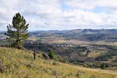 Vista su Antoetra, Madagascar Fotografie Stock Libere da Diritti