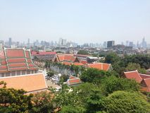 Vista su Bangkok Immagine Stock
