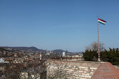 Vista su Budapest Immagini Stock
