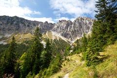 Alpi bavaresi di estate Fotografia Stock