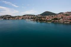 Vista su Dubrovnik Fotografia Stock Libera da Diritti