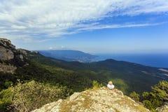 Vista su Jalta Fotografie Stock