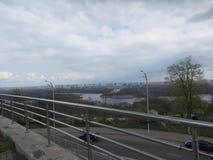 Vista su Kiev Fotografie Stock Libere da Diritti