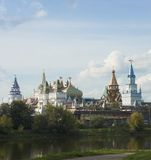 Vista su kremlin in Izmailovo Immagini Stock