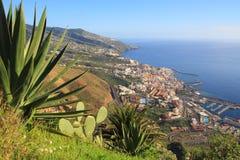 Vista su La Palma Canarias, Spagna, Europa fotografie stock libere da diritti
