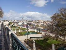 Vista su Lisbona, Portogallo Immagine Stock Libera da Diritti