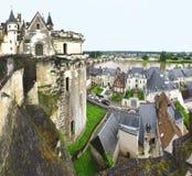 Vista su Loire Valley Immagine Stock Libera da Diritti