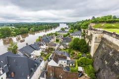 Vista su Loire Valley Fotografie Stock