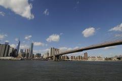 Vista su Manhattan fotografie stock libere da diritti