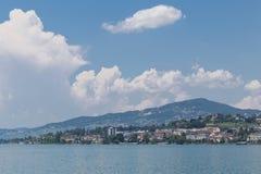 Vista su Montreux Svizzera Immagine Stock Libera da Diritti