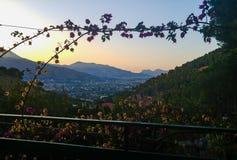 Vista su Palermo (Sicilia, Italia) Fotografia Stock Libera da Diritti