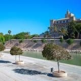 Vista su Palma de Mallorca Fotografia Stock