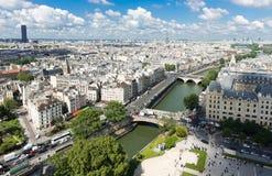 Vista su Parigi Immagini Stock