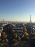 Vista su Parigi Immagini Stock Libere da Diritti