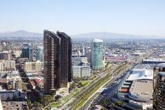 Vista su San Diego del centro Immagini Stock