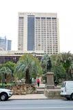 Vista su un hotel a Brisbane, Australia, 25 Agosto 2011 Immagini Stock