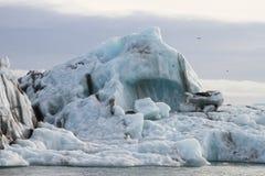 Vista su un iceberg immagine stock