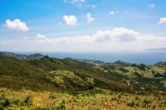 Vista sui campi dell'Andalusia Fotografia Stock Libera da Diritti
