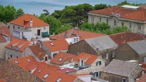 Vista sui tetti archivi video