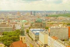 Vista sul centro di Berlino, Germania Fotografia Stock Libera da Diritti