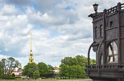 Vista sul centro storico di Sankt Pietroburgo, Fotografia Stock Libera da Diritti