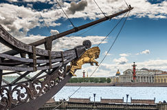 Vista sul centro storico di Sankt Pietroburgo, Russia Fotografie Stock