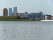 Vista sul fiume fotografie stock