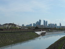 Vista sul fiume fotografia stock libera da diritti