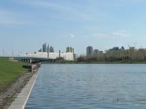 Vista sul fiume fotografia stock