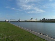 Vista sul fiume fotografie stock libere da diritti
