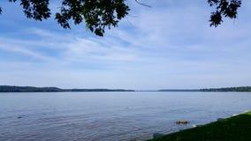 Vista sul fiume Potomac Fotografia Stock