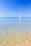 Vista sul mar Mediterraneo Fotografie Stock Libere da Diritti