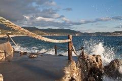 Vista sul mare 02 Immagine Stock