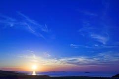 Vista sul mare Immagini Stock Libere da Diritti