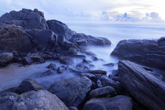 Vista sul mare Fotografia Stock