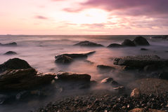 Vista sul mare. Immagini Stock